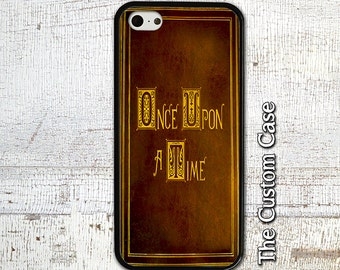 Once Upon a Time Phone Case Fairy Tale Book Phone Case, Iphone 4/5/5c/6/6+/6s, Samsung Galaxy S3/S4/S5/S6/S6 Edge/6Edge+, Note 3/4/5