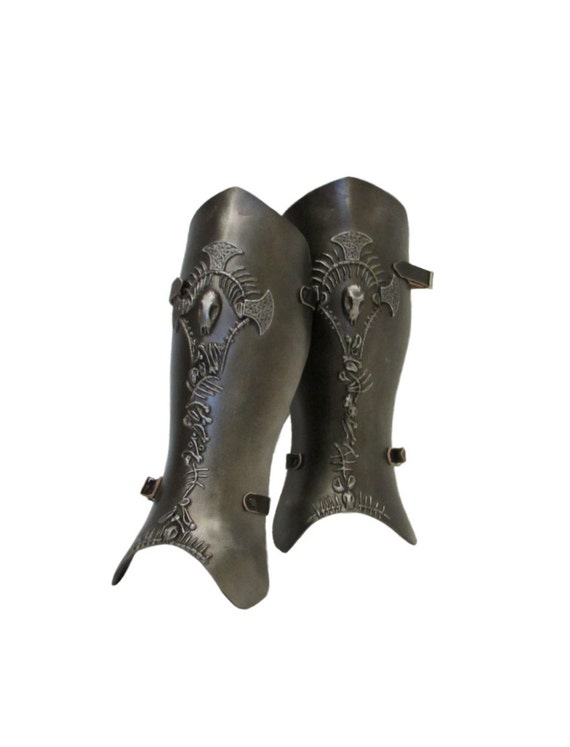 Larp Armour Charnel Greaves legs