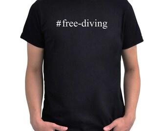 Hashtag Free Diving  T-Shirt