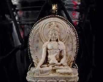 Water Vessel: White Buddha