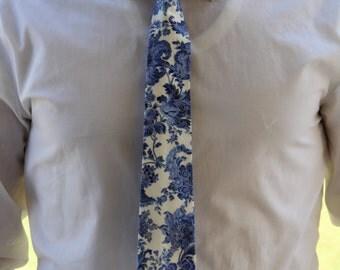 Cornflower Skinny Tie