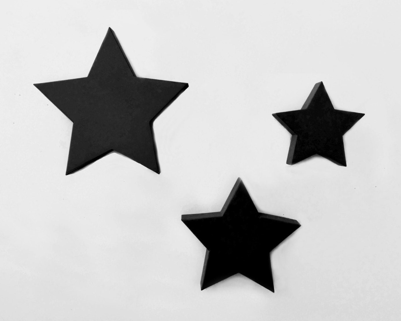 Wall Art Metal Stars : Scandinavian wall decor metal star art large d by