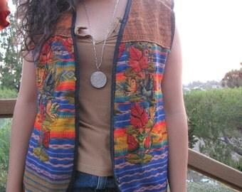 70s Peruvian Vest (handmade)