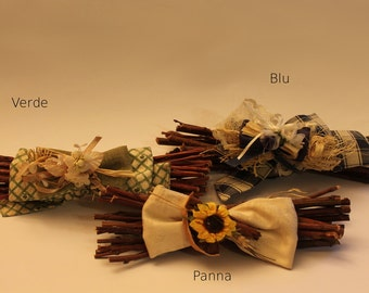 Dried flower compositions