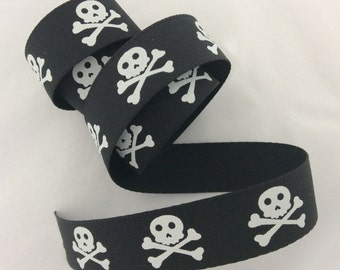 Skull & Cross Bones Pirate Ribbon