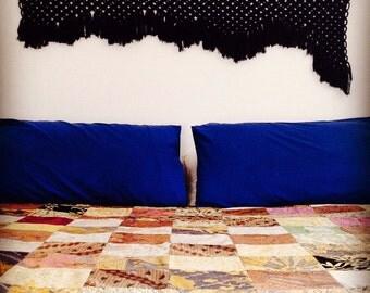 SALE!!! Winter Nights Macrame Bed Head Wall Hanging