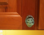SKELETOR cabinet knob drawer pull MOTU retro toys kitchen cabinets masters of the universe he-man