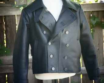 Leather Pilot Jackets---Handmade from Bullhide
