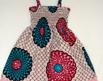 Assorted Infant/ Baby African Print Ankara Dress