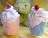 Baby Ice Cream Sundae..Baby Onesie, Baby Washcloth and Baby Spoon..Boy, Girl, or Neutral..Unique Baby Gift..Baby Shower Decor ..ON SALE :)