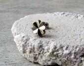Clover rook tragus helix cartilage piercing  earring