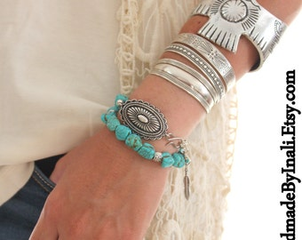 Wide Thunderbird Zinc Alloy Cuff bracelet Native American style Tribal Southwestern Country girl stackable bracelet LIMITED