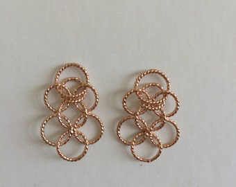 Circles with in circle earrings. The go to earrings