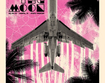 Walk The Moon Concert Poster, Tampa, FL