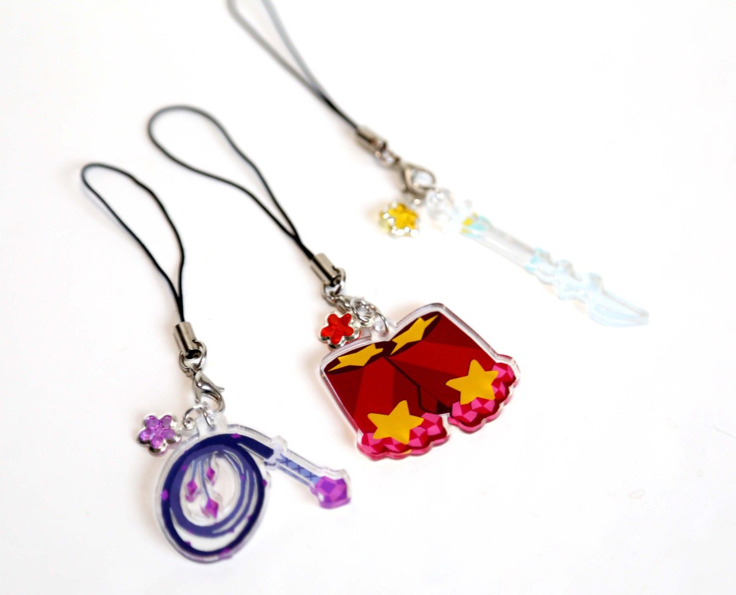 steven universe earrings steven universe acrylic charms 8306