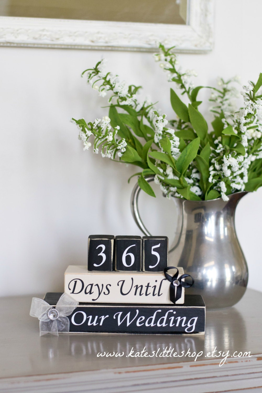 Countdown To Wedding Gifts: Custom Wedding Countdown. Countdown To Wedding. Countdown To