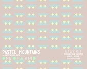 Pastel Mountains - ETSY KIT