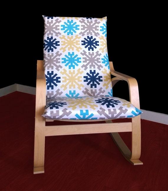 ikea po ng cushion slipcover mayan dallas ready by rockincushions