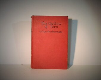 Edgar Rice Burroughs Collectible Book Hardcover The Outlaw of Torn First Reprinting March 1927 Grosset and Dunlap DanPickedMinerals