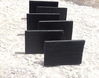 6 Slate Signs Mini Slate Signs Clip On Sign Table Top Signs Wedding Signs Table Number Signs Clip On Slate Chalkboard Sign