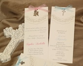 Remembrance, Emma remembrance (pewter cross or angel)- this exclusive card is perfect for any religious event.