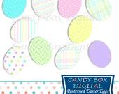 Easter Egg Clip Art, Easter Egg Clipart, Easter Clipart, Easter Clip Art, Spring Clipart, Spring Clip Art - Commercial Use OK