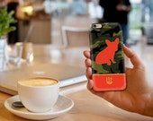 Custom Camo Frenchie iPhone 4,5,6 / Samsung Galaxy S4, S5, S6 Case