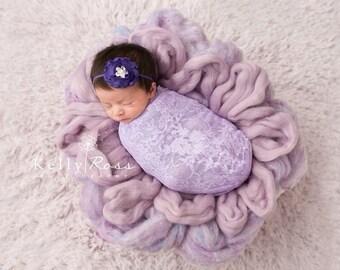 FREE SHIPPING! Purple Headband - Royal Purple Headbands, Purple Baby Headbands, Newborn Headbands, Baby Girl Headband