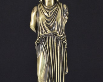 Caryatid statue/Polyester/Bronze/9.6inches