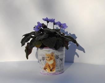 Flowerpot cache pot   Etsy