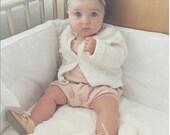 Baby Girl Headband -  Baby Headband - Newborn Headband - Baby Girl - Newborn - Gold Baby Girl Bow - Gold Headbands - READY TO SHIP