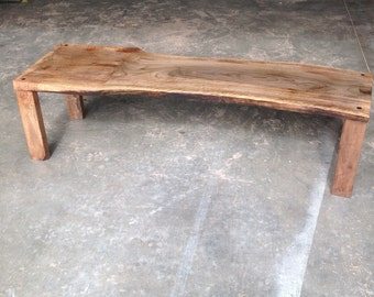 Walnut bench