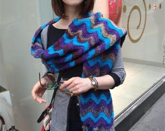 Rendezvous in the Rain Crochet Pattern