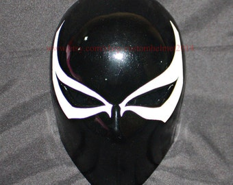 1:1 Wearable Custom Halloween Costume, Agent Venom Helmet DJ Mask, Agent Venom Mask Cosplay Movie Prop MA197