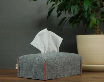 Decorative tissue box cover adjusted to a Standard Kleenex Box, Tissue Box Holder, Home decor