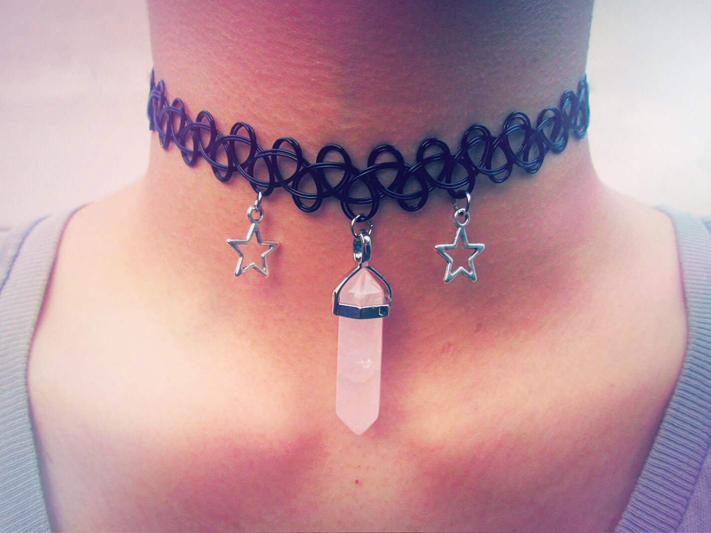 Tattoo choker 90s the image kid has it for 90s baby tattoos