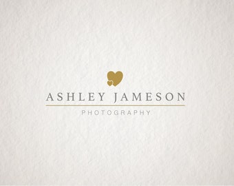 Company logo design - Premade business logo design - Photography Logo - Vintage Logo watermark