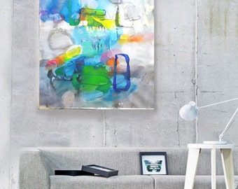 Acrylic Painting Canvas Art, Modern art abstract painting, Canvas Wall Hanging, Living Room Art, Original Abstract Painting, acrylic artwork