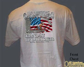 IRON WORKER American Outfitters Union Iron Worker Iron Worker Occupation T-Shirt
