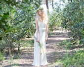 Rustic chic bridal gowns, wedding dress, ivory bridal gown, woodland wedding dress, long white dress, marriage, weddings, long bridal gowns