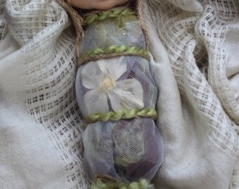 OOAK Baby Fairy Bundle: Hand-Sculpted Art Doll