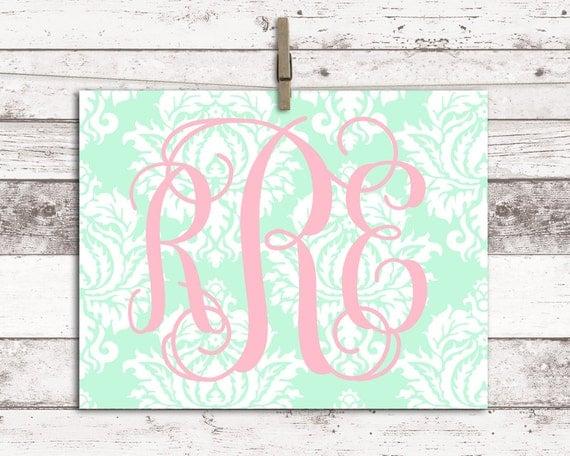 Mint And Pink Nursery Little Girls Room Decor Girl Nursery