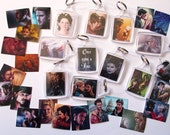 Once Upon A Time keychain - double-sided keyrings, various designs
