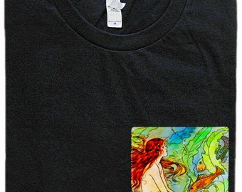 Mermaid Pocket Shirt (Elenore Abbott)