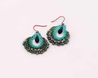 Green Fandango Earrings