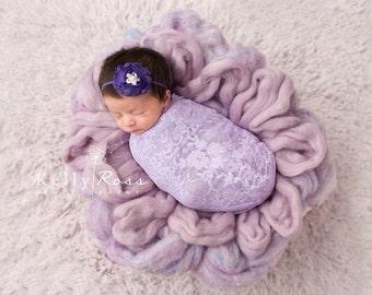 FREES SHIPPING! Purple Headband - Royal Purple Headbands, Purple Baby Headbands, Newborn Headbands, Baby Girl Headband