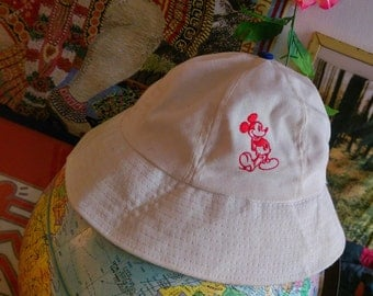 RARE Vintage Mickey Mouse Bucket Hat
