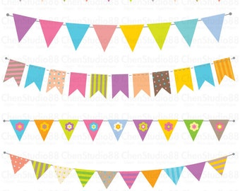 Banner vector - Digital Clipart - Instant Download - EPS, PNG files included