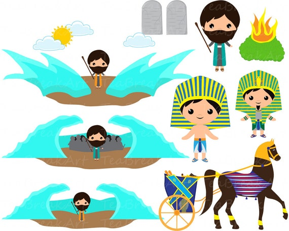 Moses Clipart Digital Clip Art Graphics For Personal