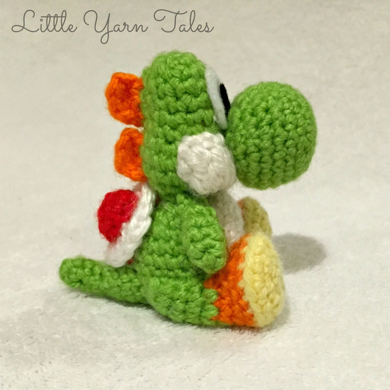 Yoshi-inspired amigurumi PDF WRITTEN PATTERN (digital item ...